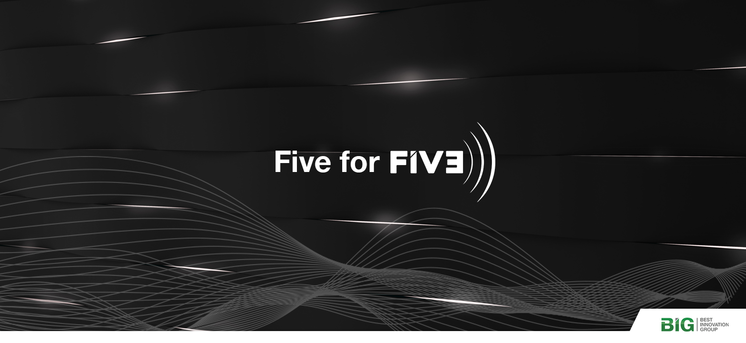 Best Innovation Group Goes Five for FIVE