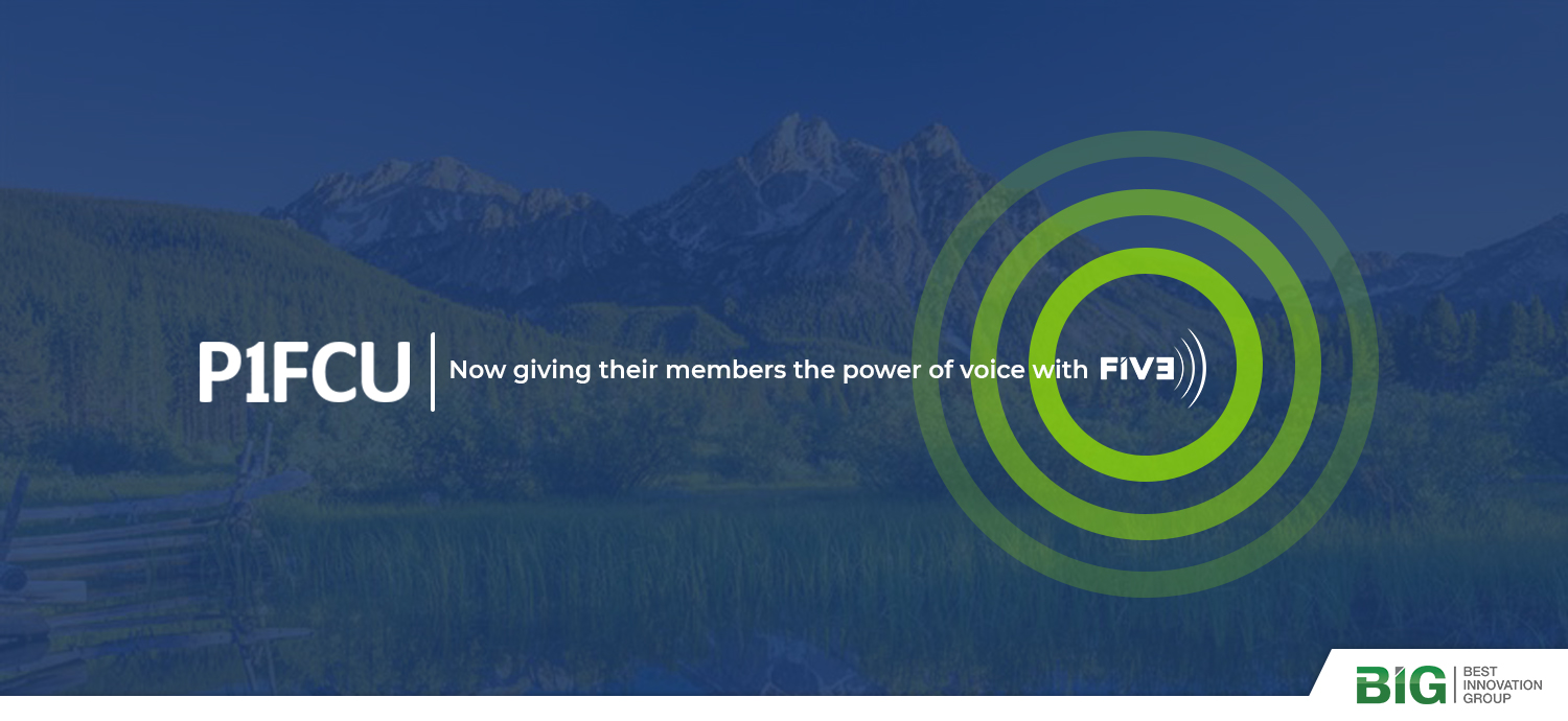 P1FCU Signs with Best Innovation Group for the FIVE Voice Banking Platform